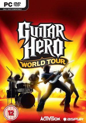 Cover for Guitar Hero World Tour.