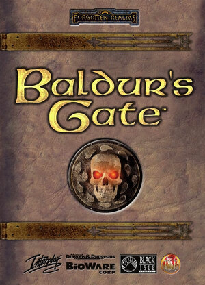 Cover for Baldur's Gate.