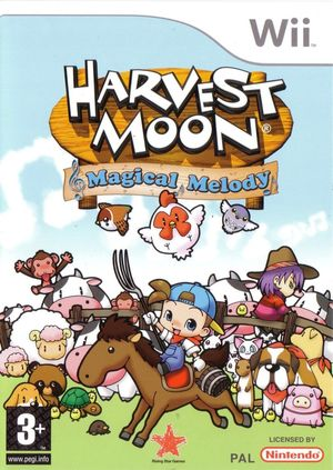 Cover for Harvest Moon: Magical Melody.