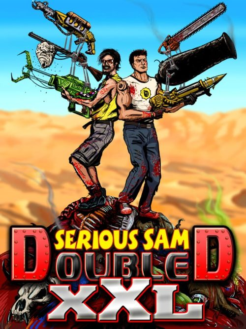 Cover for Serious Sam Double D XXL.