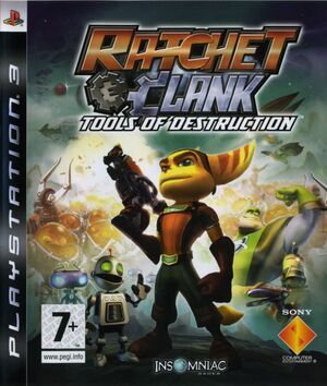 Cover for Ratchet & Clank Future: Tools of Destruction.