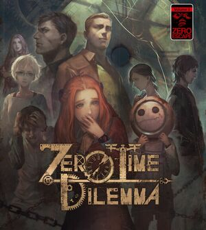 Cover for Zero Time Dilemma.
