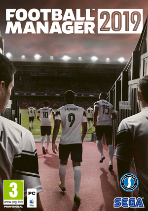 Cover for Football Manager 2019.