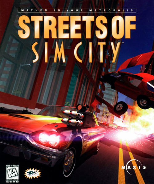 Cover for Streets of SimCity.