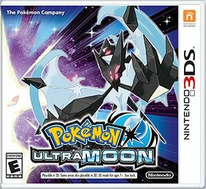 Cover for Pokémon Ultra Moon.