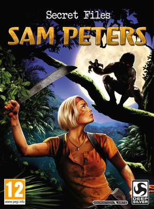 Cover for Secret Files: Sam Peters.