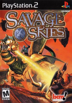 Cover for Savage Skies.