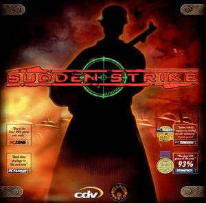 Cover for Sudden Strike.