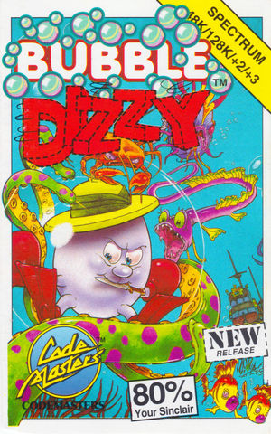Cover for Bubble Dizzy.