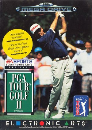 Cover for PGA Tour Golf II.