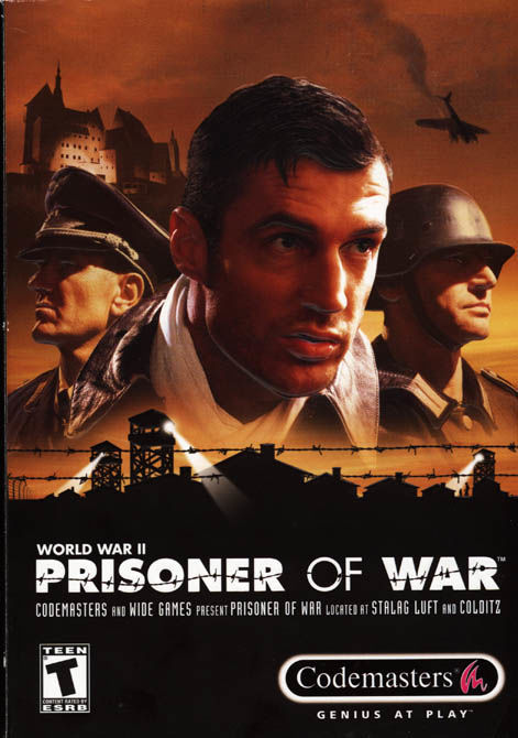 Cover for Prisoner of War.