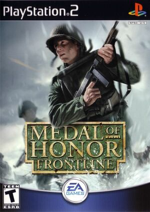 Cover for Medal of Honor: Frontline.