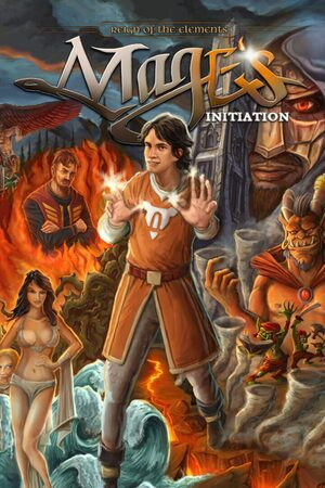 Cover for Mage's Initiation: Reign of the Elements.