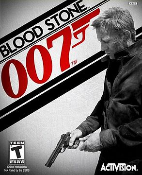 Cover for James Bond 007: Blood Stone.