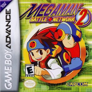 Cover for Mega Man Battle Network 2.