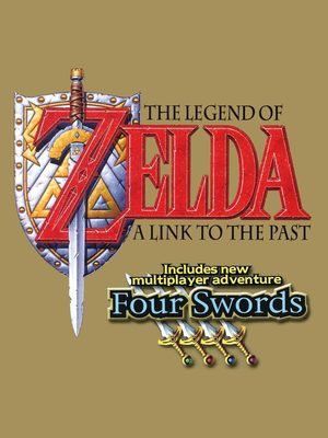 Cover for The Legend of Zelda: A Link to the Past and Four Swords.