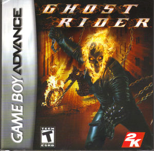 Cover for Ghost Rider.