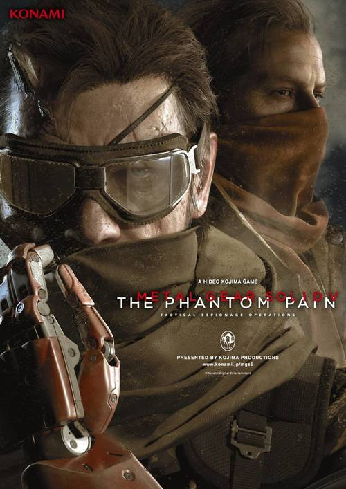 Cover for Metal Gear Solid V: The Phantom Pain.