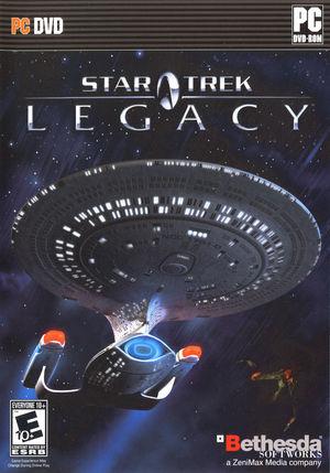 Cover for Star Trek: Legacy.