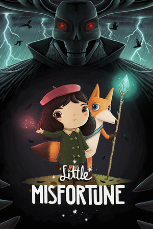 Cover for Little Misfortune.