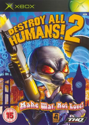 Cover for Destroy All Humans! 2.