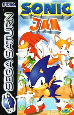Cover for Sonic Jam.