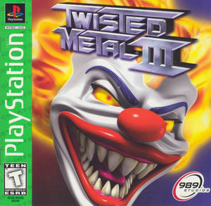 Cover for Twisted Metal III.