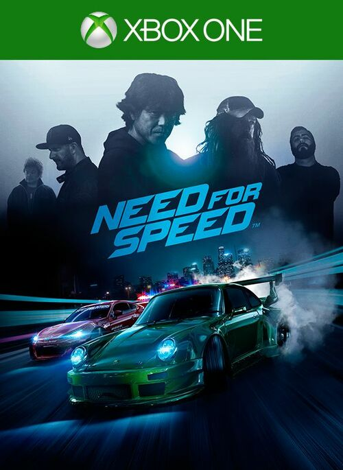 Cover for Need for Speed.