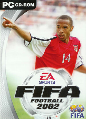 Cover for FIFA Football 2002.