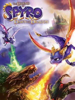 Cover for The Legend of Spyro: Dawn of the Dragon.