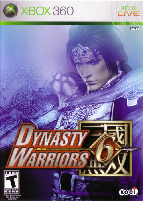 Cover for Dynasty Warriors 6.