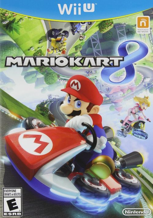 Cover for Mario Kart 8.