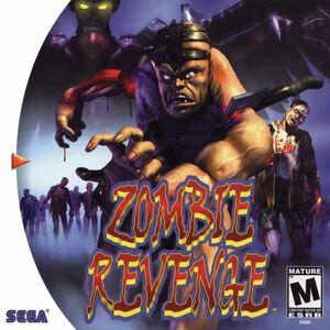Cover for Zombie Revenge.