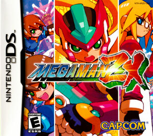 Cover for Mega Man ZX.