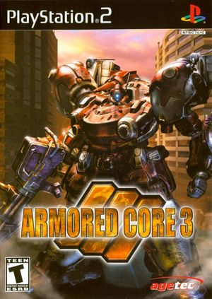 Cover for Armored Core 3.