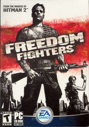 Cover for Freedom Fighters.
