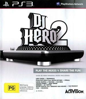 Cover for DJ Hero 2.