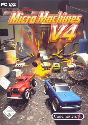 Cover for Micro Machines V4.