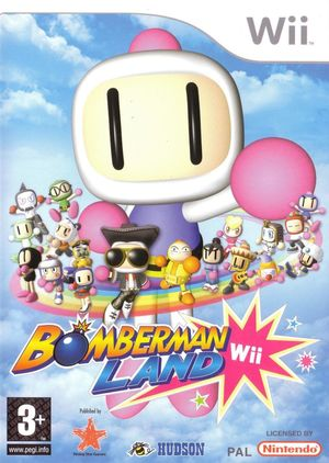 Cover for Bomberman Land.