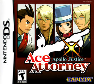 Cover for Apollo Justice: Ace Attorney.
