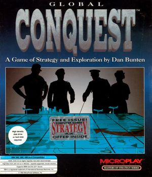 Cover for Global Conquest.