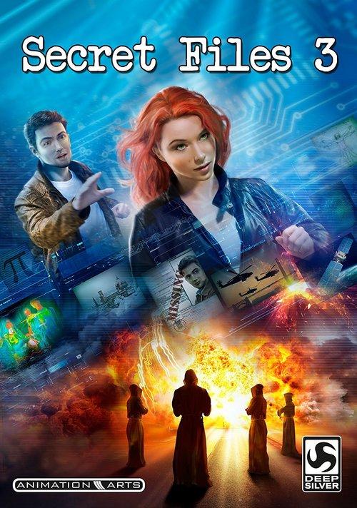 Cover for Secret Files 3.