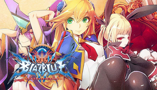 Cover for BlazBlue: Central Fiction.