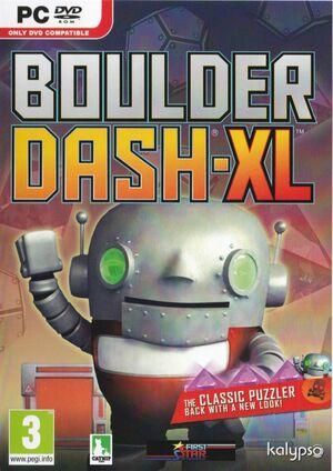Cover for Boulder Dash-XL.