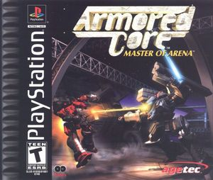 Cover for Armored Core: Master of Arena.