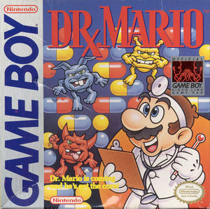 Cover for Dr. Mario.