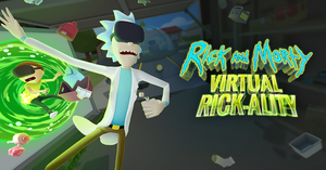 Cover for Rick and Morty Simulator: Virtual Rick-ality.