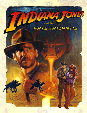 Cover for Indiana Jones and the Fate of Atlantis.