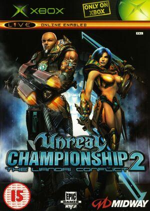 Cover for Unreal Championship 2: The Liandri Conflict.