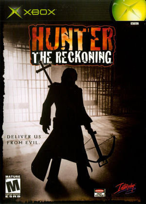 Cover for Hunter: The Reckoning.